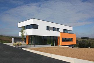 Siège de la société M2I - Bureau d'étude VRD à Wingersheim