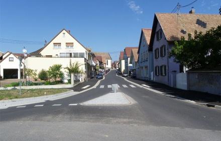 Réhabilitation de la rue de la libération – Wingersheim
