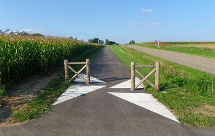 Aménagement d'une piste cyclable entre Bernolsheim et Brumath