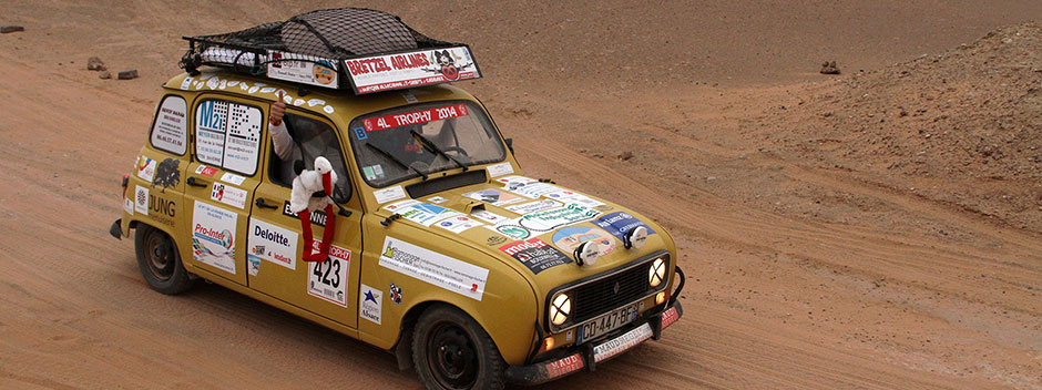 Partenariat du Rallye 4L Trophy 2014