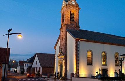 Réhabilitation de l'éclairage public – Bossendorf