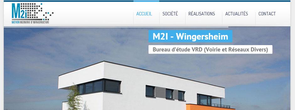 Lancement du site internet M2I VRD