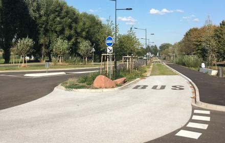 Aménagement d'une gare routière à BOUXWILLER